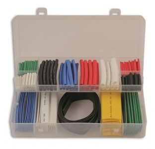 Connect 36818 171 Pieces Assorted Heat Shrink Sleeving